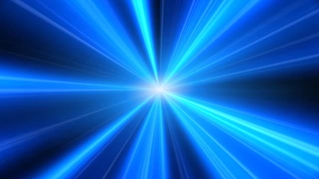 vidéos et rushes de lumière bleu explosion - répandre