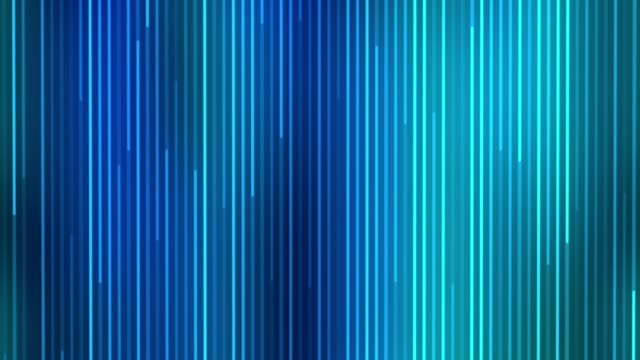 Blue light streaks. Abstract motion background.
