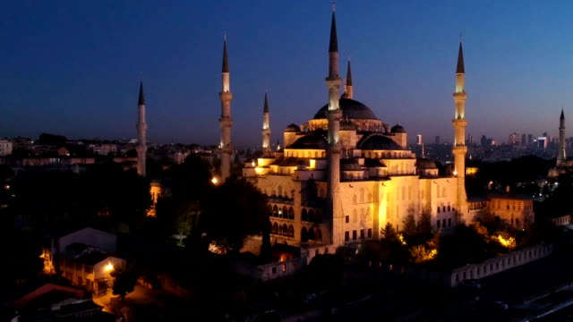 Blue Mosque Before Sunrise