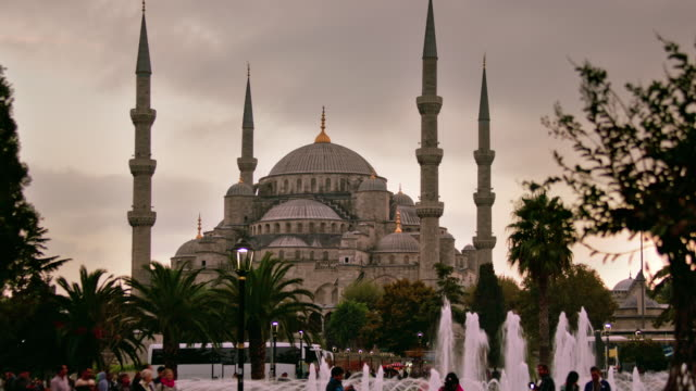 TL ZO Blue Mosque day to night