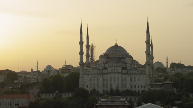 Blue Mosque In Istanbul In The Evening