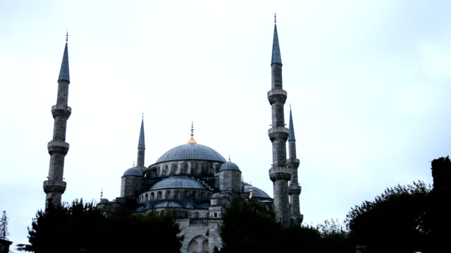 blaue moschee in istanbul - sultan ahmet camii - religion stock-videos und b-roll-filmmaterial