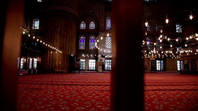 Mosquée Bleue-Sultan Ahmet Caraco intérieur