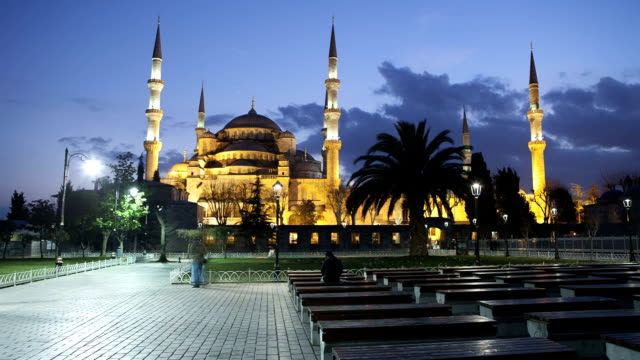 HD: Blue Mosque (Suleymaniye Camii) **Time Lapse**