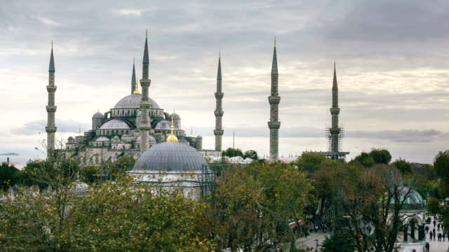 blue mosque - blue mosque stock videos & royalty-free footage