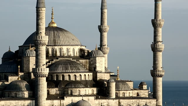 blue mosque - sultanahmet district stock videos and b-roll footage