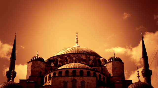 Blue Mosque (orange)