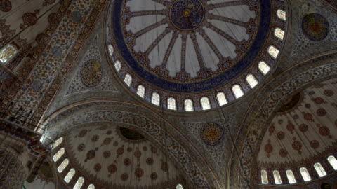 ブルーモスク - スルタンアフメト・モスク点の映像素材/bロール