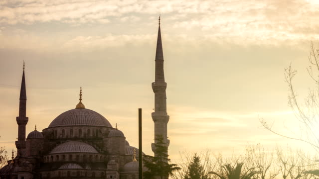 blue mosque - minaret stock videos & royalty-free footage