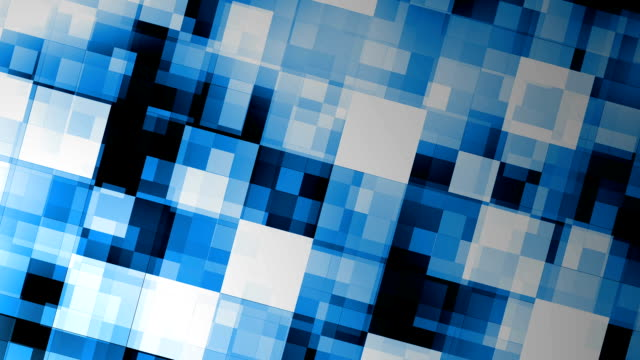 blue motion background with animated squares - square stock videos & royalty-free footage