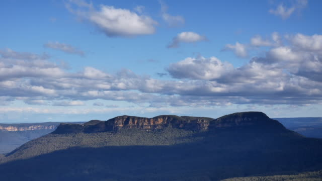 blue mountain national park, new south wales. - montaggio in sequenza video stock e b–roll