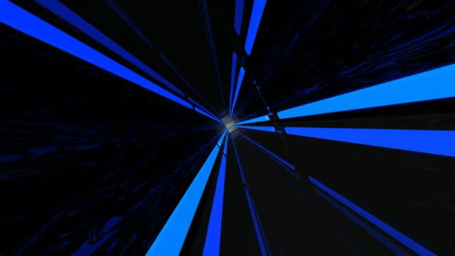 Miroir de voiture Bleu néon