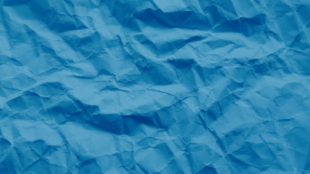 Blue paper texture wrinkled