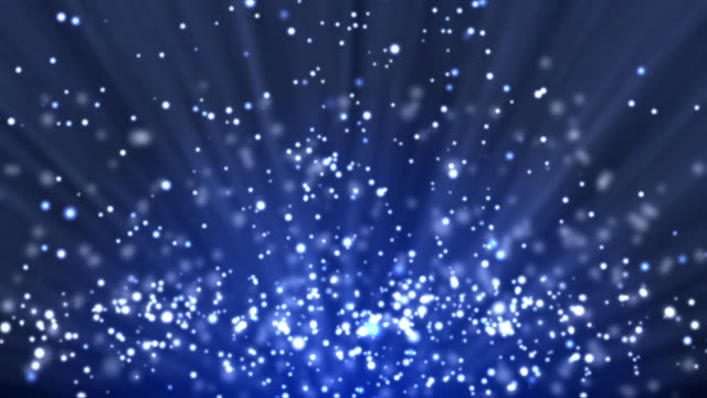 blue particle background and light rays - light effect stock videos & royalty-free footage