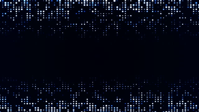 blue particles (loopable) - circle stock videos & royalty-free footage