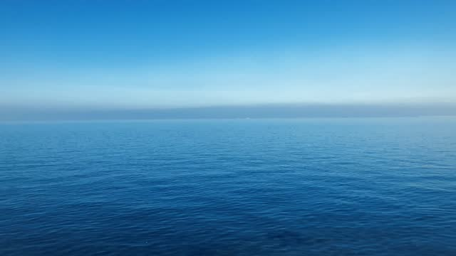 blue perfest sea and sky - horizon over water stock videos & royalty-free footage
