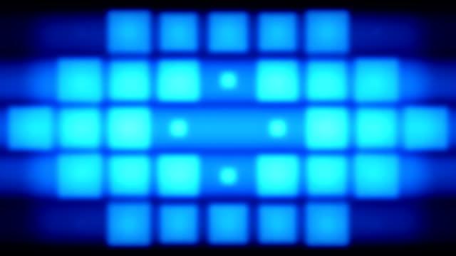 Blue pixels lights