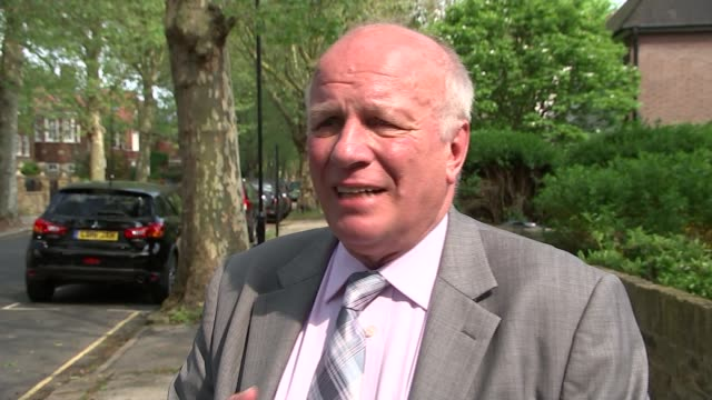 blue plaque unveiled at tommy cooper's former home in chiswick greg dyke interview sot tommy cooper was a genius - greg dyke stock videos and b-roll footage