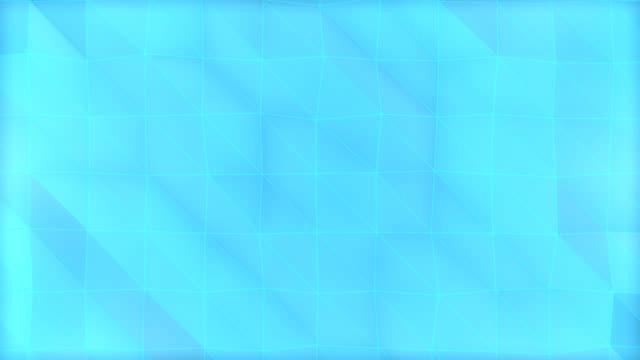 Blue Polygonal Background 3d animation