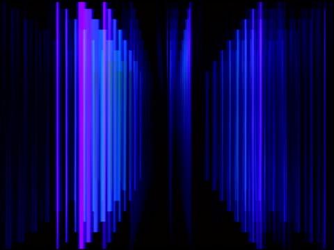 blue prism light streaks background loop - prism stock videos & royalty-free footage