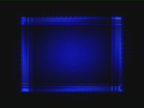 blue rectangle with shifting lines - rectangle stock videos & royalty-free footage