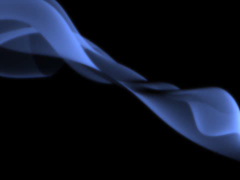 vídeos y material grabado en eventos de stock de blue shining light. smoke effect - squiggle