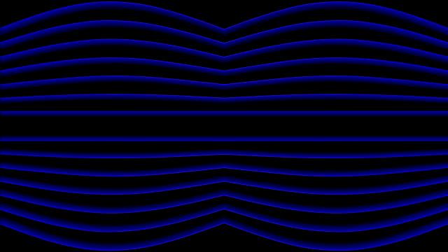 blue sinewaves - sine wave stock videos & royalty-free footage
