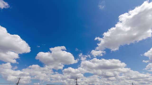 T/L, Blue sky and clouds.