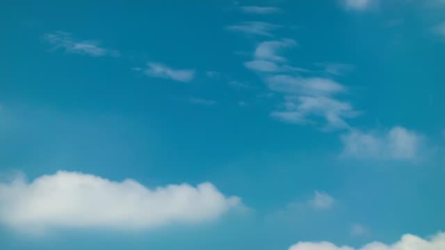 T/L,Blue sky and clouds.