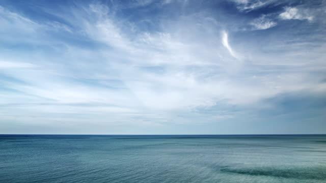 Blauer Himmel und Meer