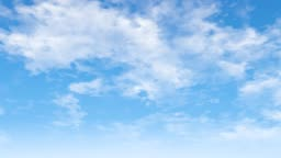 Blue sky and white cloud background.