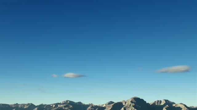blue sky over the high sierras, california. - basin and range province stock videos and b-roll footage