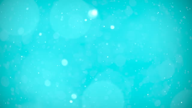 Blue Sky Particles Background. 4k