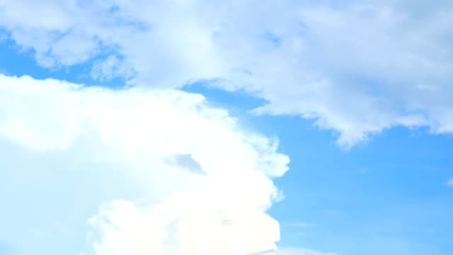 TL : Blue sky with cloud