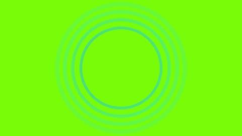 vídeos y material grabado en eventos de stock de 4k blue sonar circle loopable con pantalla verde - señal de circulación