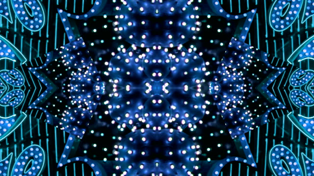 Blue Starburst Neon Frame - Las Vegas, Nevada