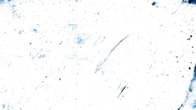 blue stop motion animation, high contrasted grungy and dirty, animated, distressed and smudged 4k loopable video background with street style texture - physical structure stock videos & royalty-free footage