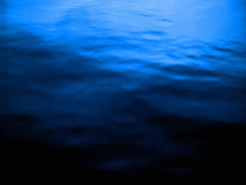 blue water surface with ripples in shadow - mpeg video format stock videos & royalty-free footage