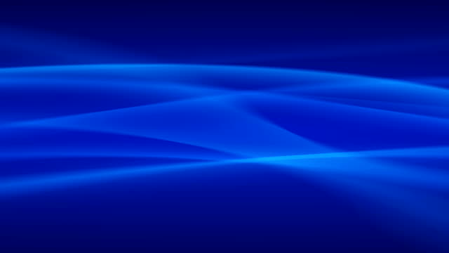 blue waves abstract background looping - blue stock videos & royalty-free footage