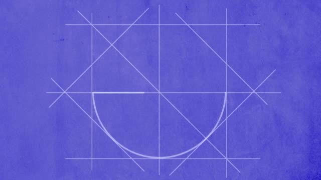 Cópia Heliográfica gráfico circular