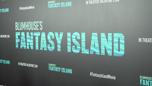 """blumhouse's """"fantasy island"""" premiere at amc century city 15 theater on february 10, 2020 in century city, california. - performing arts event stock videos & royalty-free footage"""