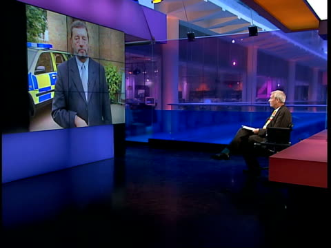 blunkett to cut police paperwork itn cheshire chester david blunkett mp interview sot talks of wanting local police forces to adapt policy on... - chester cheshire stock-videos und b-roll-filmmaterial