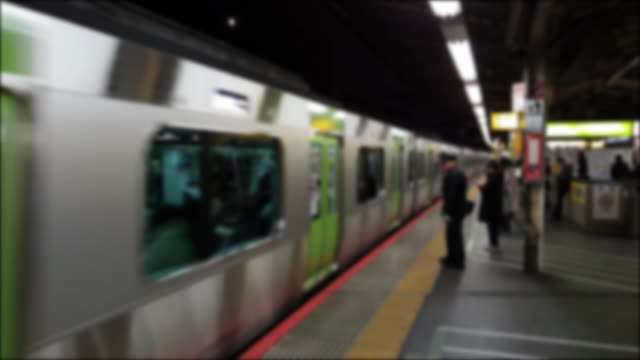 4k blur realtime subway - train vehicle stock videos & royalty-free footage