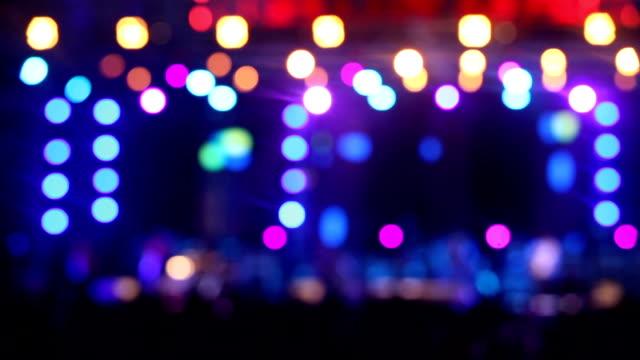 Bewegungsunschärfe Hintergrundszene Nacht Party Night-club