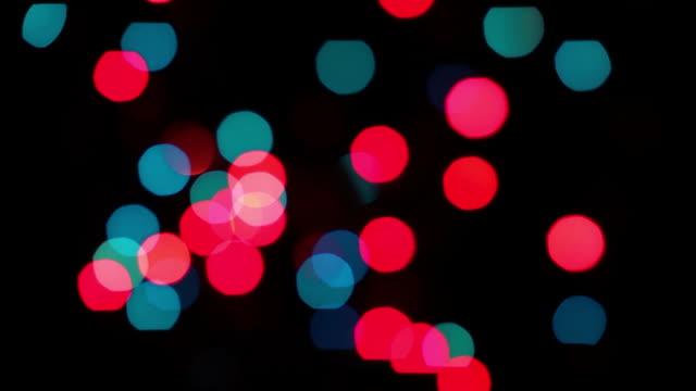Blurred Blinking Christmas