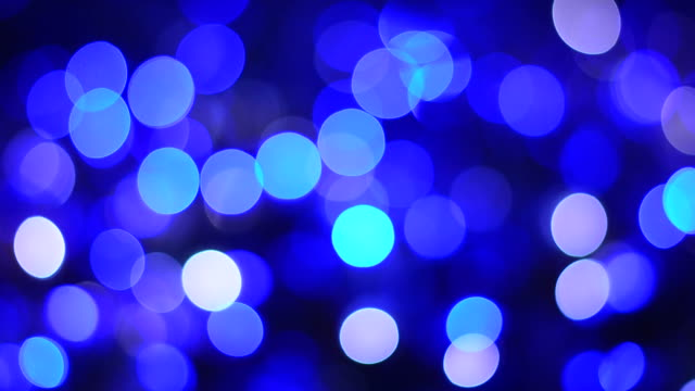 blurred blue circles bokeh light - flicker bird stock videos and b-roll footage