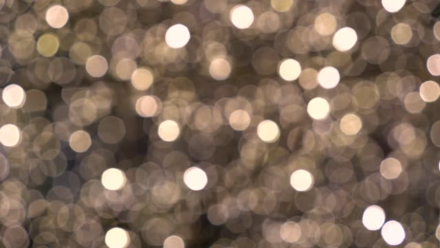 blurred bokeh background - fairy lights stock videos & royalty-free footage