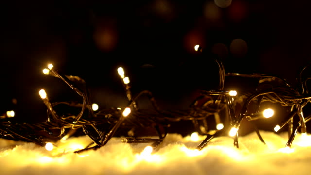 blurred christmas lights background - fairy stock videos & royalty-free footage