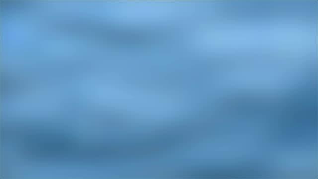 wazig beeld van de oppervlakte van de blauwe zee