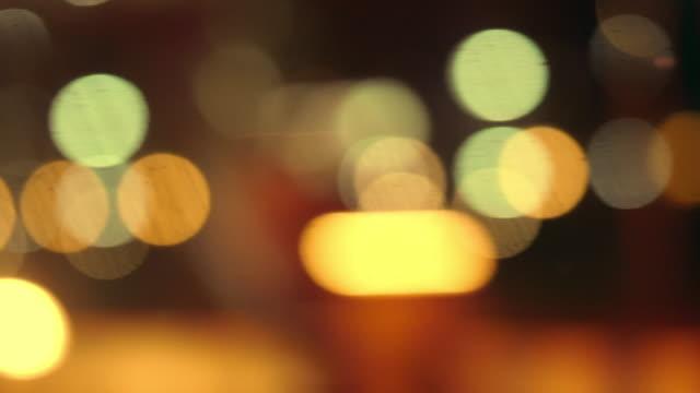 blurred motion : city street - traffic light stock videos & royalty-free footage